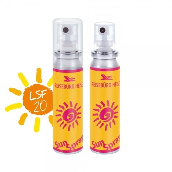 Werbeartikel Sonnenspray